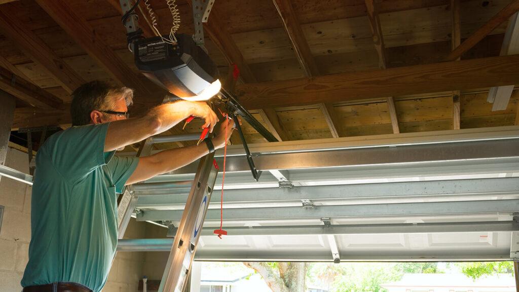 Fixing An Garage Door In Edmonton