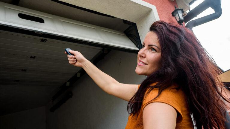 Garage Door Opener Repair in Edmonton